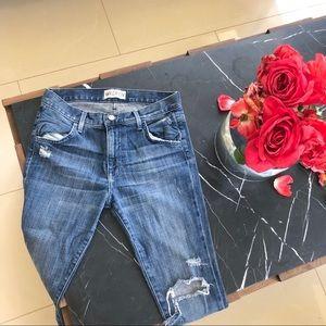 Wildfox marissa boyfriend jeans ripped